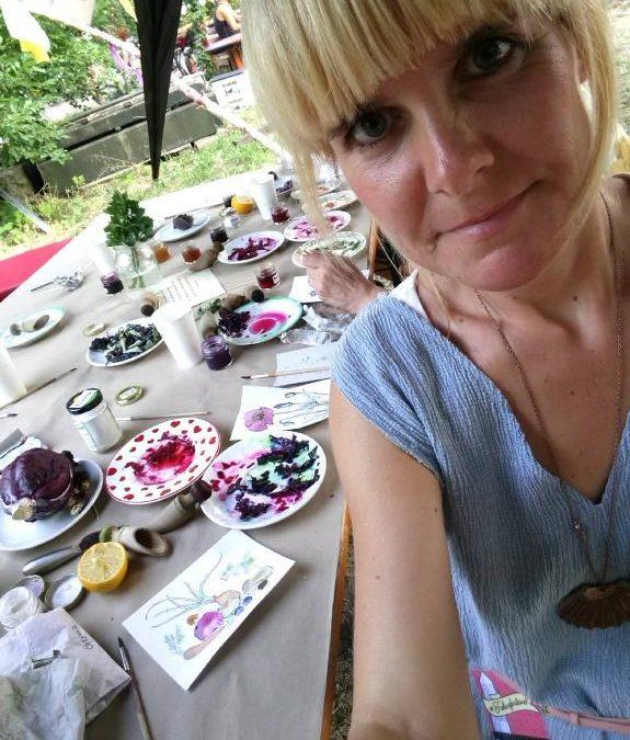 Über einen Färbergarten in Berlin, Tinten  und eine wunderschöne Farbstoffsammlung — Interview Special mit Kristin Hensel