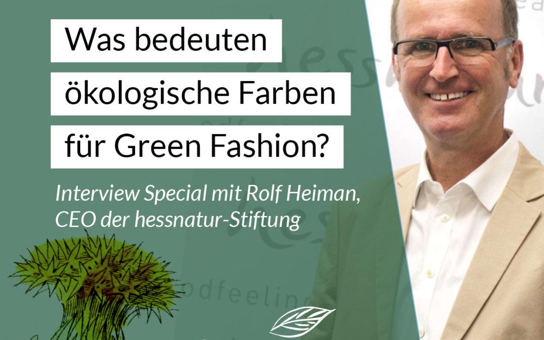 Was bedeuten ökologische Farben für Green Fashion?